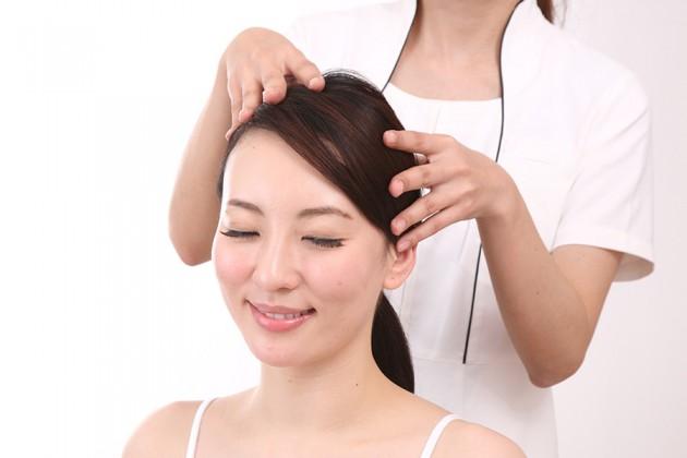 頭皮のコリイメージ